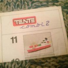 Juegos construcción - Tente: CATALOGO TENTE COMBI 2 -VER FOTOS. Lote 210106605