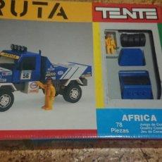 Juegos construcción - Tente: TENTE - TENTE RUTA ÁFRICA DE EXIN - REFERENCIA 0500 - COMPLETO CON CAJA INSTRUCCIONES PEGATINAS.... Lote 210148391