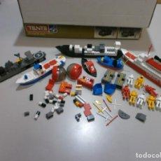 Juegos construcción - Tente: BUEN LOTE DE TENTE ANTIGUO BARCOS ROBOTS Y ASTRO. Lote 210579136