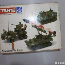 Juegos construcción - Tente: TENTE SCORPION MULTIPLE REF 0543 CAJA MANUAL Y MUY COMPLETO. Lote 210579626