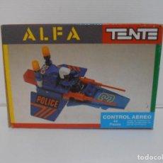 Juegos construcción - Tente: TENTE ALFA CONTROL AEREO, REF 0370 EXIN, CAJA SIN ABRIR. Lote 211809841