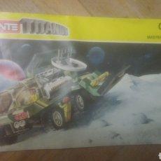 Juegos construcción - Tente: TENTE. INSTRUCCIONES DEL TITANIUM. 0456. 1987. VER FOTOS.. Lote 212943887