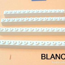 Juegos construcción - Tente: º TENTE AUTENTICO BLOQUE 1X14. COLOR BLANCO. Lote 214179388