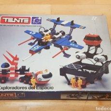 Juegos construcción - Tente: TENTE LOS EXPLORADORES DEL ESPACIO EN CAJA ORIGINAL GRAN ESTADO. Lote 214235458