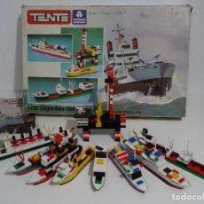 Juegos construcción - Tente: TENTE MAR REF: 0550 LOS GIGANTES DEL MAR CAJA GIGANTE EXIN MADE IN SPAIN AÑOS 70S Y 80S TIPO LEGO. Lote 215028771