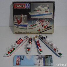 Juegos construcción - Tente: TENTE MAR REF: 0540 LOS COLOSOS DEL OCÉANO CAJA GIGANTE EXIN MADE IN SPAIN AÑOS 70S Y 80S TIPO LEGO. Lote 215029308
