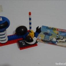 Juegos construcción - Tente: TENTE ASTRO REF: 0655 TORRE CONTROL TRÁFICO ORBITAL EXIN MADE IN SPAIN AÑOS 70S Y 80S TIPO LEGO. Lote 215827905