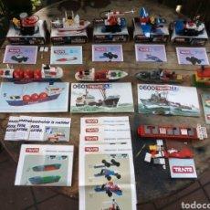 Juegos construcción - Tente: GRAN LOTE DE TENTE. Lote 218424300