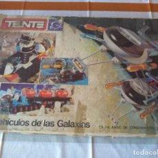 Juegos construcción - Tente: TENTE CAJA ASTRO LOS VEHICULOS DE LAS GALAXIAS LEER DESCRIPCION. Lote 219363578