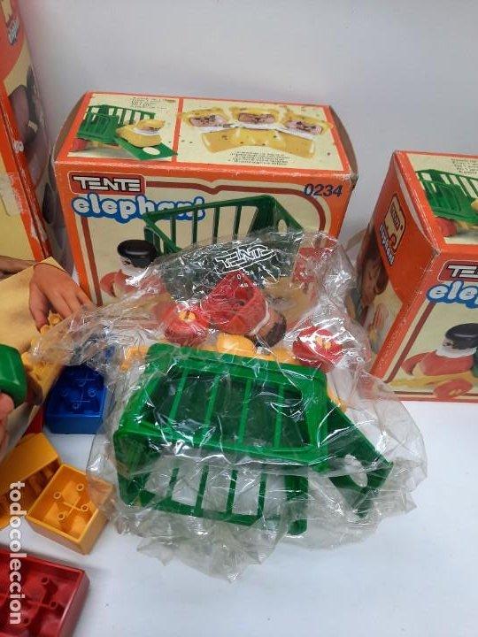 Juegos construcción - Tente: LOTE TENTE ELEPHANT ESCUELA Y 2 DE TENTE ELEPHANT , UNO PRECINTADO A ESTRENAR !! EXIN - Foto 2 - 220572345