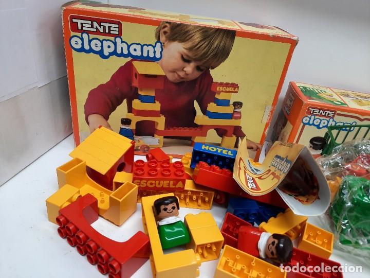 Juegos construcción - Tente: LOTE TENTE ELEPHANT ESCUELA Y 2 DE TENTE ELEPHANT , UNO PRECINTADO A ESTRENAR !! EXIN - Foto 4 - 220572345
