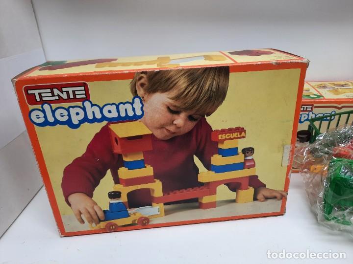 Juegos construcción - Tente: LOTE TENTE ELEPHANT ESCUELA Y 2 DE TENTE ELEPHANT , UNO PRECINTADO A ESTRENAR !! EXIN - Foto 7 - 220572345