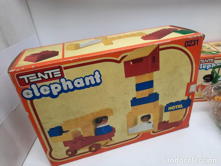 Juegos construcción - Tente: LOTE TENTE ELEPHANT ESCUELA Y 2 DE TENTE ELEPHANT , UNO PRECINTADO A ESTRENAR !! EXIN - Foto 9 - 220572345