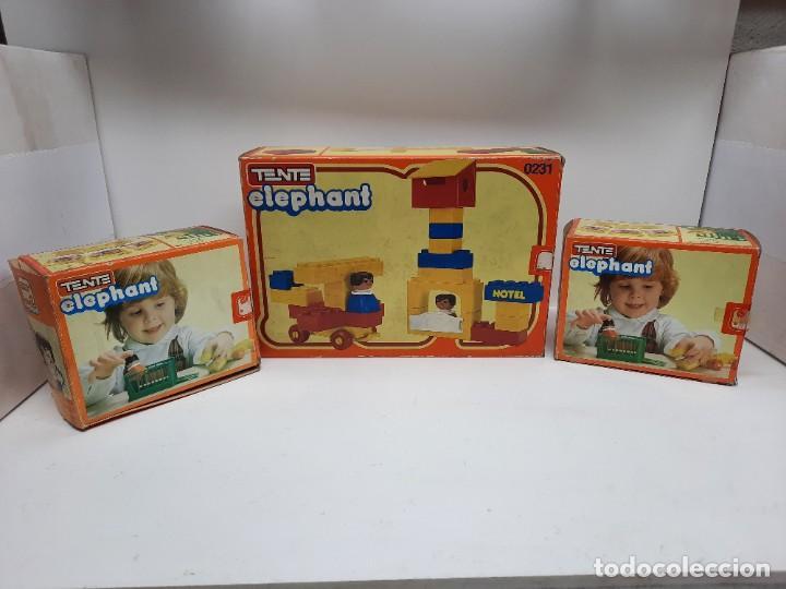 Juegos construcción - Tente: LOTE TENTE ELEPHANT ESCUELA Y 2 DE TENTE ELEPHANT , UNO PRECINTADO A ESTRENAR !! EXIN - Foto 18 - 220572345
