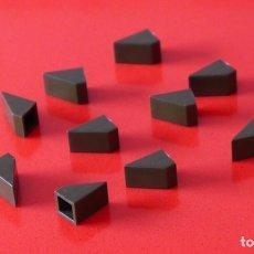 Juegos construcción - Tente: 10 CUÑAS 1X1 VERDE ESCORPION. COMPATIBLE 100% CON TENTE. Lote 233488120