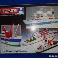 Juegos construcción - Tente: TENTE MAR- MULTIPLE REF.0540 LOS COLOSOS DEL OCEANO, EXIN MADE IN SPAIN! SM. Lote 222348082