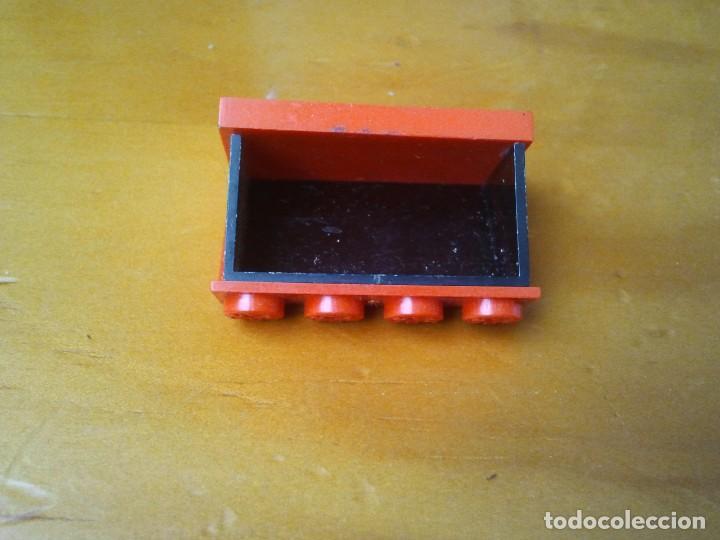 Juegos construcción - Tente: Cabina roja TENTE para camion, coche, tractor, etc. Totalmente original. - Foto 5 - 222700428