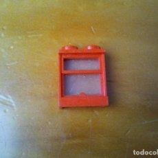Juegos construcción - Tente: VENTANA TENTE CONECTORES 2X1 PIN. COLOR ROJO.. Lote 223288162
