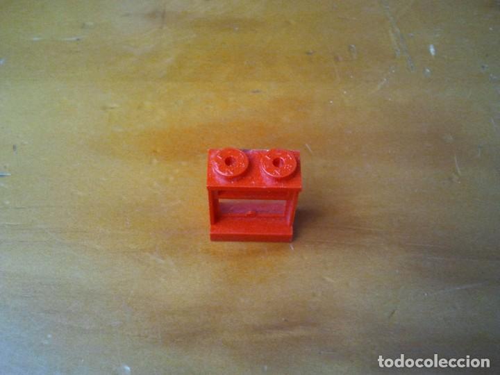 Juegos construcción - Tente: Ventana TENTE conectores 2x1 pin. Color rojo. - Foto 3 - 223288162