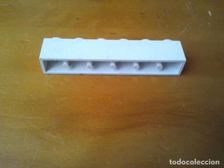 Juegos construcción - Tente: Bloque serigrafiado ruta africana. Original TENTE 6x1 conectores. Blanca. - Foto 3 - 223535042