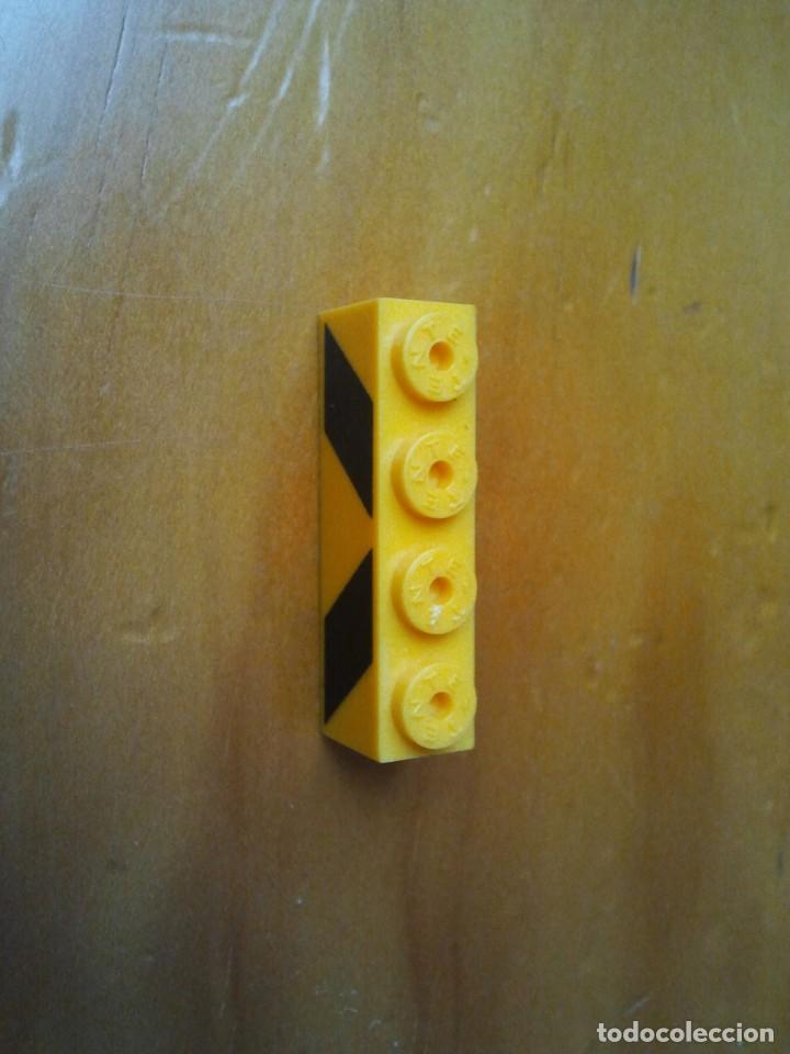 Juegos construcción - Tente: TENTE pieza bloque serigrafiado de obras en color amarillo con letras negras. - Foto 2 - 223600966