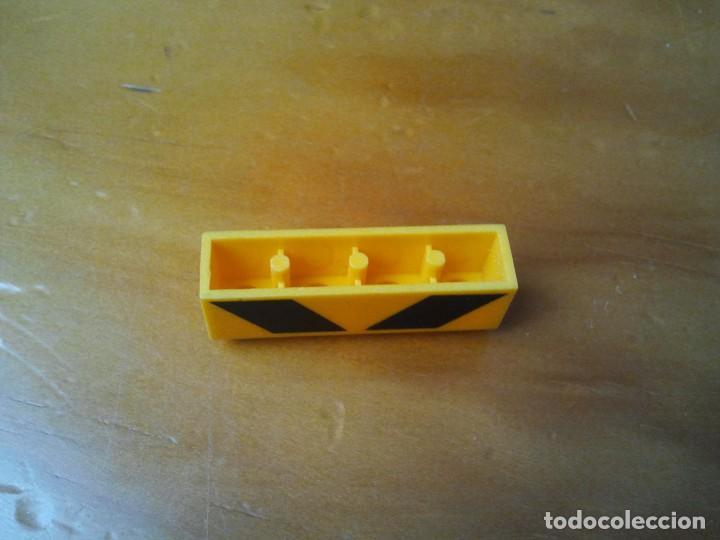 Juegos construcción - Tente: TENTE pieza bloque serigrafiado de obras en color amarillo con letras negras. - Foto 3 - 223600966