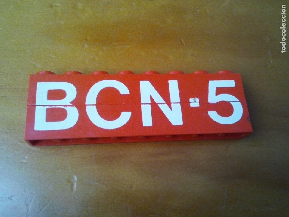 Juegos construcción - Tente: 2 bloques de piezas TENTE serigrafiadas BCN-5 con conectores 8x1 pin. - Foto 2 - 223847333