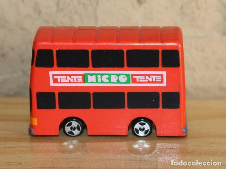 MICRO TENTE - AUTOBUS DE DOS PISOS - BUS - NUEVO - MICROTENTE - NUNCA JUGADO (Juguetes - Construcción - Tente)