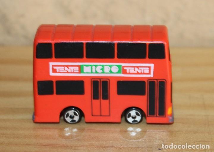 Juegos construcción - Tente: MICRO TENTE - AUTOBUS DE DOS PISOS - BUS - NUEVO - MICROTENTE - NUNCA JUGADO - Foto 3 - 245468665