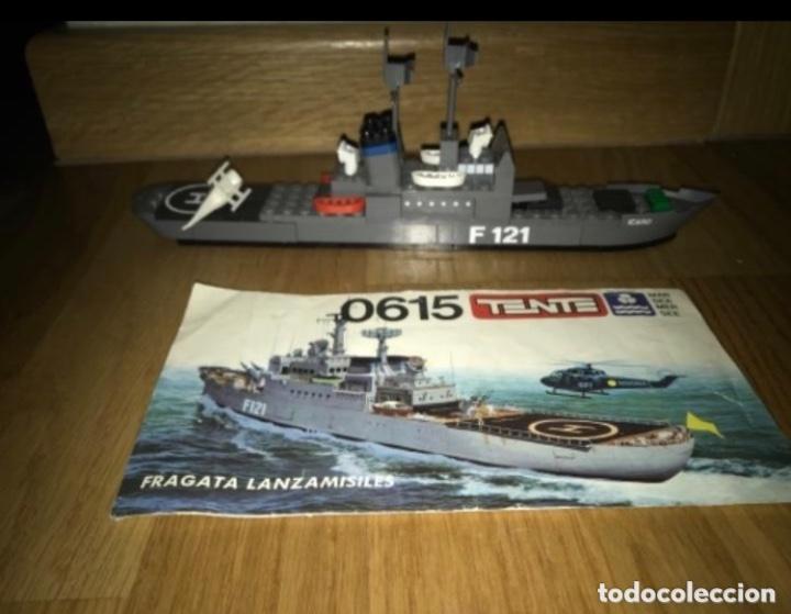 Juegos construcción - Tente: Tente Exin Mar Oceanis 0615. Fragata lanzamisiles ÍCARO. F121. 100% Completo. Instrucciones* - Foto 2 - 226831015