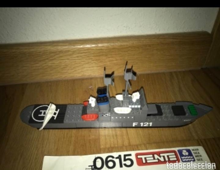 Juegos construcción - Tente: Tente Exin Mar Oceanis 0615. Fragata lanzamisiles ÍCARO. F121. 100% Completo. Instrucciones* - Foto 3 - 226831015