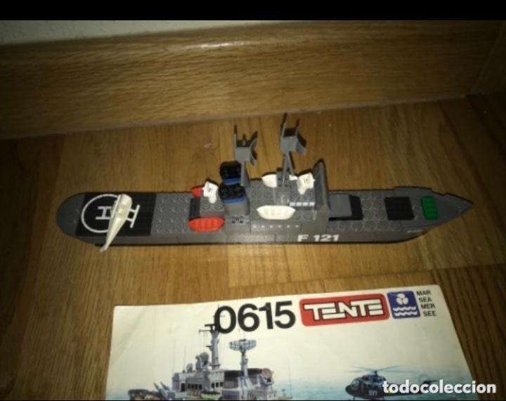 Juegos construcción - Tente: Tente Exin Mar Oceanis 0615. Fragata lanzamisiles ÍCARO. F121. 100% Completo. Instrucciones* - Foto 4 - 226831015