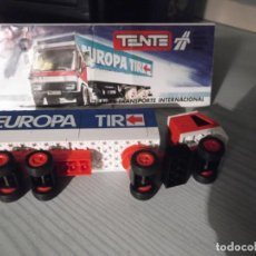 Juegos construcción - Tente: TENTE REF,0683 -TRTANSPORTE INTERNACIONAL. Lote 229016880