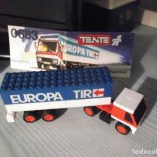 Juegos construcción - Tente: TENTE REF,0683 -TRTANSPORTE INTERNACIONAL. Lote 229016945
