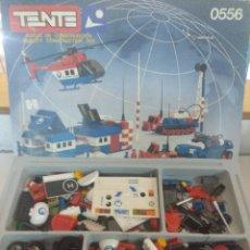 Juegos construcción - Tente: ESTACION POLAR ARTIC 2 DE TENTE/EXIN REF:0556 INCOMPLETA.. Lote 229304365