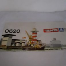 Juegos construcción - Tente: TENTE EXIN INSTRUCCIONES ESTACION MARITIMA Y REMOLCADOR REF 0620. Lote 229512755