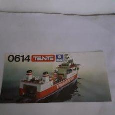 Juegos construcción - Tente: TENTE E XIN INSTRUCCIONES TRANSFERRY REF 0614. Lote 229513340
