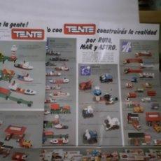 Juegos construcción - Tente: TENTE EXIN DOS FOLLETOS CATALOGOS DIFERENTES. Lote 229519890