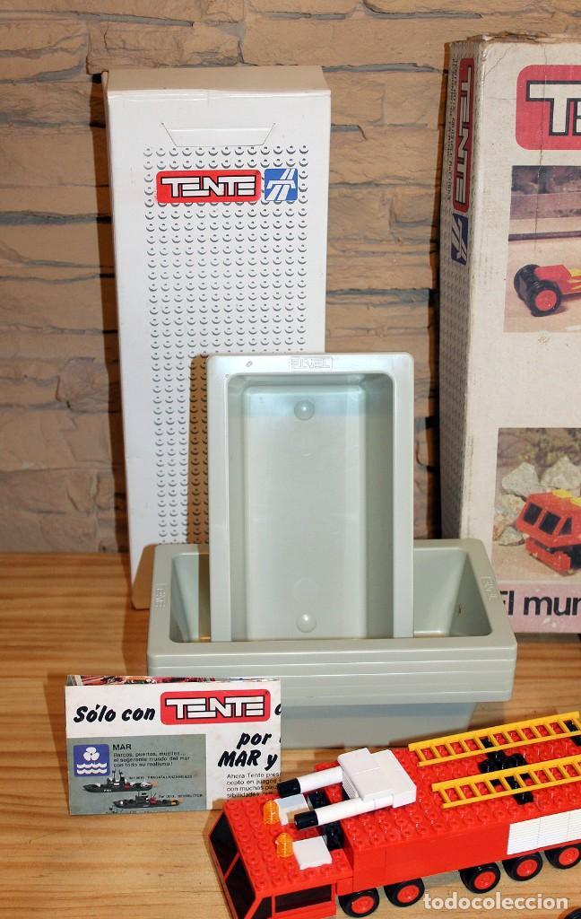 Juegos construcción - Tente: TENTE EL MUNDO DE LA RUTA - REF. 0553 - COMPLETO - EN SU CAJA ORIGINAL - Foto 2 - 230544425