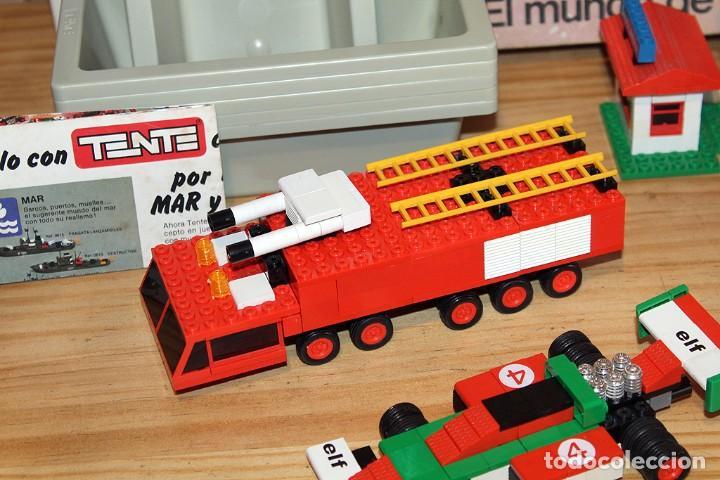 Juegos construcción - Tente: TENTE EL MUNDO DE LA RUTA - REF. 0553 - COMPLETO - EN SU CAJA ORIGINAL - Foto 5 - 230544425