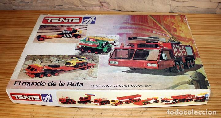 Juegos construcción - Tente: TENTE EL MUNDO DE LA RUTA - REF. 0553 - COMPLETO - EN SU CAJA ORIGINAL - Foto 25 - 230544425