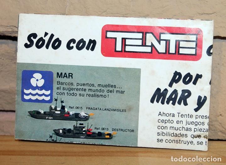 Juegos construcción - Tente: TENTE EL MUNDO DE LA RUTA - REF. 0553 - COMPLETO - EN SU CAJA ORIGINAL - Foto 26 - 230544425