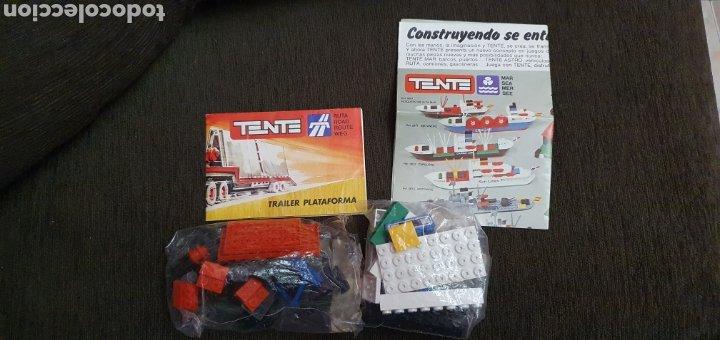 Juegos construcción - Tente: TENTE TRAILER PLATAFORMA REF. 0680 CON INSTRUCCIONES Y FOLLETO - Foto 8 - 231326780
