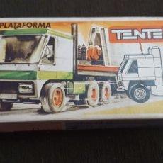 Juegos construcción - Tente: TENTE TRAILER PLATAFORMA REF. 0680 CON INSTRUCCIONES Y FOLLETO. Lote 231326780