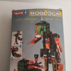 Juegos construcción - Tente: TENTE ROBLOCK BETATRON DE EXIN SUPER TRANSFORMABLE.. Lote 233419165