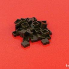Juegos construcción - Tente: 50 PLACAS 1X1 LISA ESCORPIÓN. COMPATIBLE 100% CON TENTE. Lote 235453135