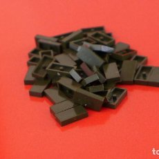 Juegos construcción - Tente: 50 PLACAS 2X1 LISA ESCORPIÓN. COMPATIBLE 100% CON TENTE. Lote 235455380