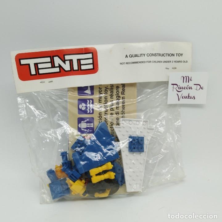 TENTE EXIN ASTRO BLUE 2 REF 0007 PREMIUM KELLOGG'S AÑO 1987 - CLOUD SKIMMER SPACE TREKKER SQUADRON (Juguetes - Construcción - Tente)
