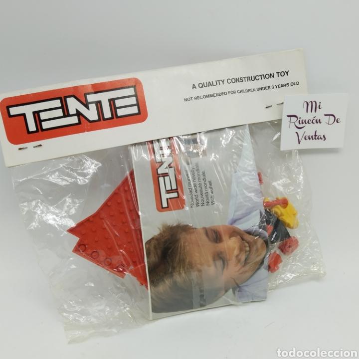 Juegos construcción - Tente: TENTE EXIN Astro Red 1 ref 0005 premium Kelloggs año 1987 - Sun Searcher Space Trekker Squadron - Foto 2 - 235677005