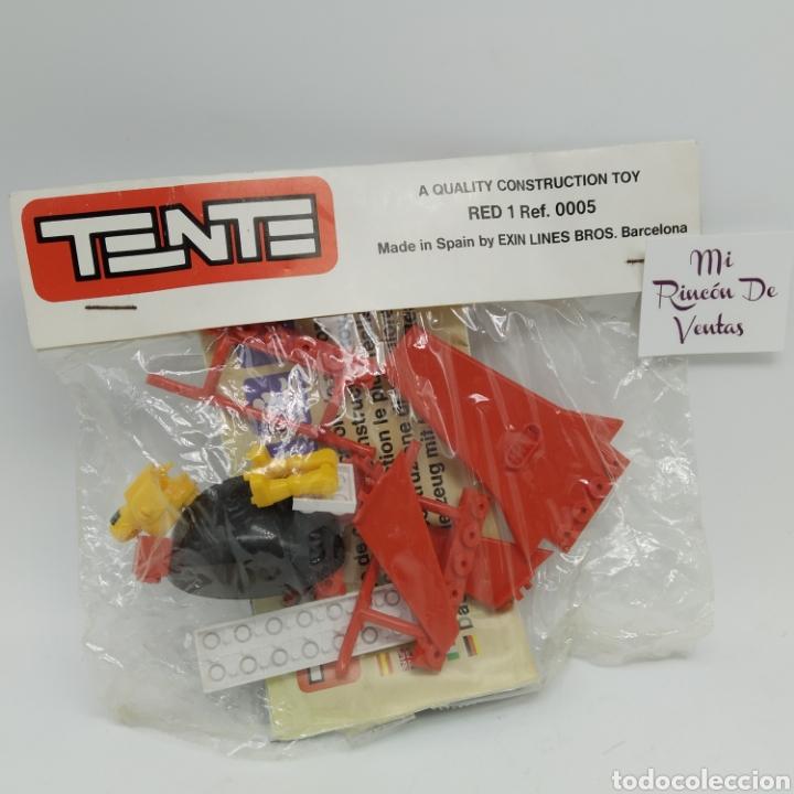 TENTE EXIN ASTRO RED 1 REF 0005 PREMIUM KELLOGG'S AÑO 1987 - SUN SEARCHER SPACE TREKKER SQUADRON (Juguetes - Construcción - Tente)